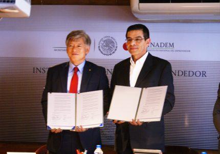 El INADEM y la Korea University unen esfuerzos para impulsar a emprendedores entre ambos  países