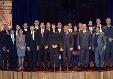 Encabeza el Secretario Ildefonso Guajardo reunión con Secretaros de Desarrollo económico del país