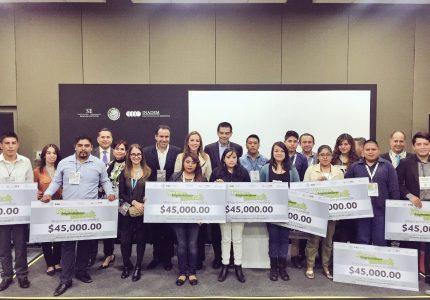 Entregan apoyos a emprendedores del Programa Jóvenes Emprendedores Prosperando en Semana del Emprendedor