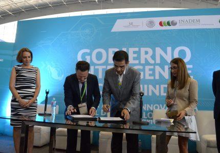 El INADEM y ALIAT firmaron convenio de colaboración para fomentar la Cultura Emprendedora