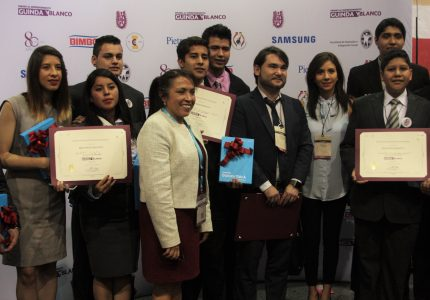 """Se realiza la Ceremonia de Premiación de la convocatoria """"Premio al Emprendimiento Guinda y Blanco"""" del IPN"""