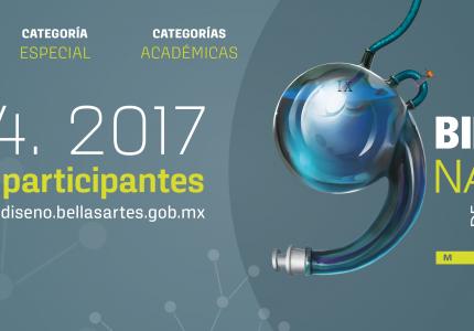 Novena Bienal Nacional de Diseño México INBA