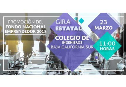 Promoción del Fondo Nacional Emprendedor -Gira Estatal- Baja California
