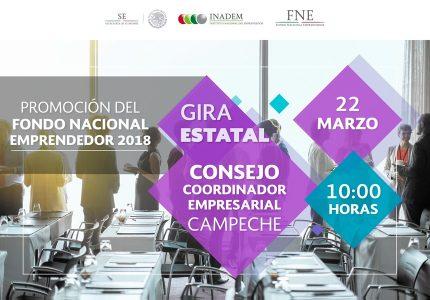 Promoción del Fondo Nacional Emprendedor -Gira Estatal- Campeche