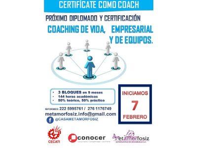 Coaching: Formación y Entrenamiento. Certificación CONOCER