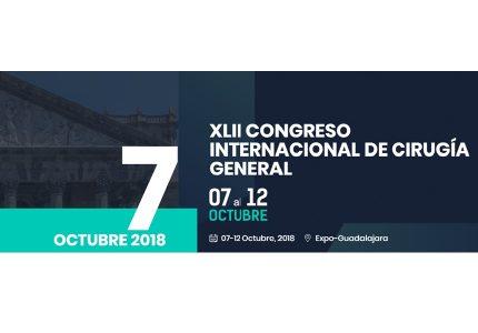 XLII CONGRESO INTERNACIONAL DE CIRUGÍA GENERAL