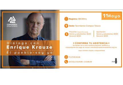 Diálogo con Enrique Krauze