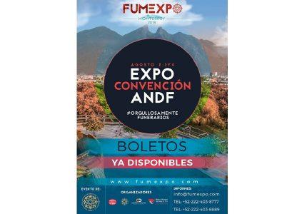 EXPO CONVENCIÓN INTERNACIONAL  DE LA ANDF- FUMEXPO