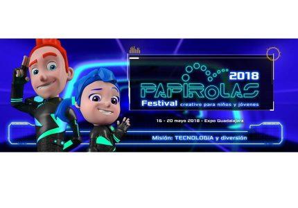 PAPIROLAS, Festival  creativo para niños y jóvenes