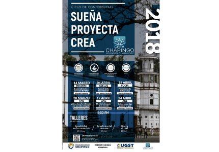 Ciclo de Conferencias Sueña, Proyecta, Crea 2018