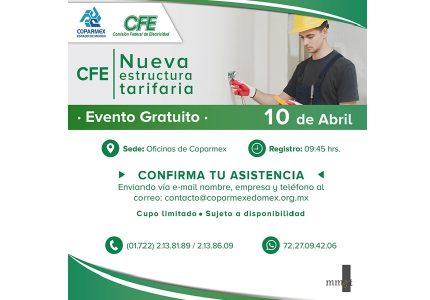 CFE: Nueva estructura Tarifaria