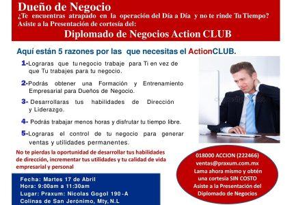 Diplomado de Negocios ActionCLUB