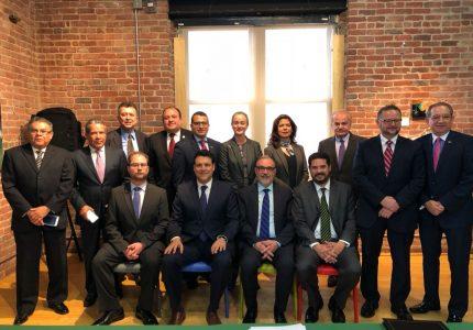 La Secretaría de Relaciones Exteriores (SRE) y la Secretaría de Economía a través del Instituto Nacional del Emprendedor (INADEM) firman convenio de colaboración.