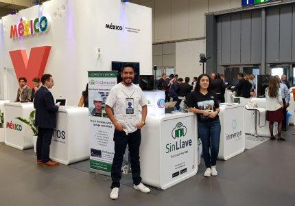 Emprendedores muestran tecnología mexicana en Hannover Messe 2018