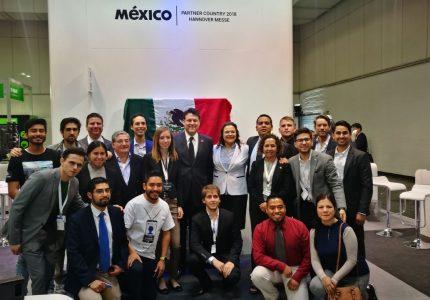 Emprendedores mexicanos concretan negocios en Hannover Messe