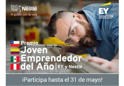 Premio Joven Emprendedor del Año EY y Nestlé